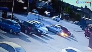 Donday. В Новочеркасске знаменитый таксист на снова попал в ДТП