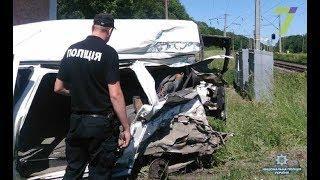 Смертельное ДТП с участием поезда произошло в Одесской области