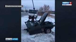Более 200 ДТП за три дня: ситуация на дорогах Алтайского края остаётся сложной