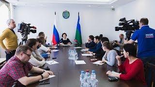 Наталья Комарова призвала югорчан помочь жителям Сирии