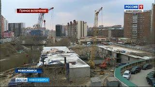 Обрушение здания произошло в Заельцовском районе Новосибирска