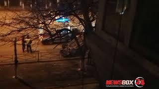 В Артеме в результате ДТП перевернулась одна машина