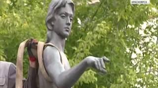 """К Универсиаде на проспекте Мира реставрируют фонтан """"Адам и Ева"""""""