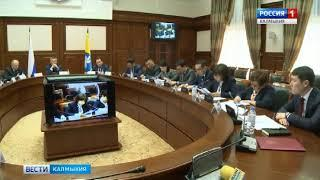В Элисте прошло заседание антинаркотической комиссии под председательством Алексея Орлова