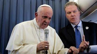 """Папа Франциск: """"судите сами!"""""""