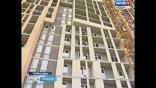 Дом на улице Петрова в Чебоксарах строители обещают сдать через три месяца