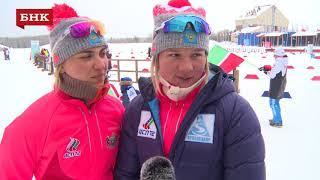 Татьяна Алешина, Ольга Кучерук - Чемпионат России по лыжным гонкам 2018 года