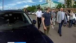 Набережную Красноярска освободят от машин