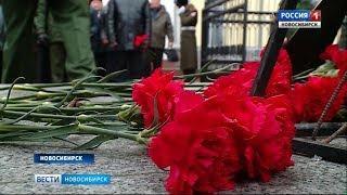 Бойцы Росгвардии почтили память погибших коллег минутой молчания