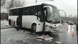 ДТП с автобусом под Москвой: 8 пострадавших