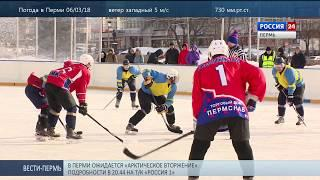Олимпийскую победу хоккеистов отметили товарищеским матчем