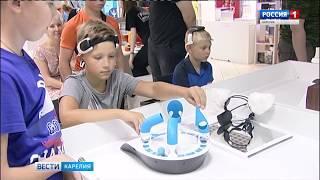 Уникальная выставка роботов открылась в Петрозаводске