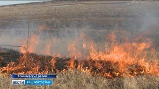 МЧС выявило 4 термоточки в Башкирии