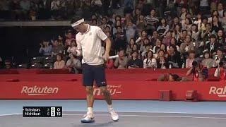 Нишикори сыграет с Гаске в полуфинале турнира в Токио