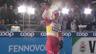 Российский лыжник Большунов выиграл вторую гонку подряд…