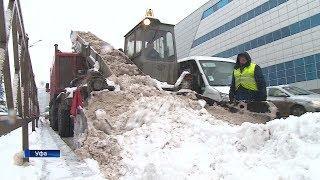 Башкирия оказалась во власти снежного циклона