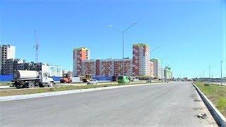На месте болота асфальт - в Нижневартовске заканчивается строительство улицы Ленина