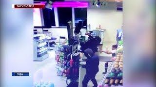 Полицейские разыскивают подозреваемых в разбойном нападении на АЗС