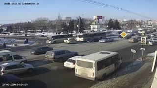 Smotriomsk.RU: Омск, камера на Лермонтова, 20, ДТП, 27.02.2018
