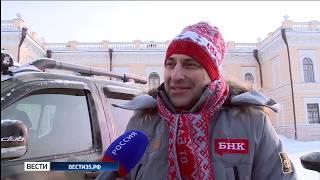 Знаменитый гонщик ралли Дакар посетил Вологду