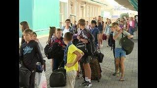 460 детей вернулись в Самару с отдыха в Краснодарском крае