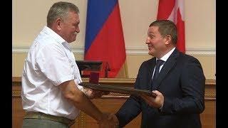 В Волгограде чествовали лучших строителей