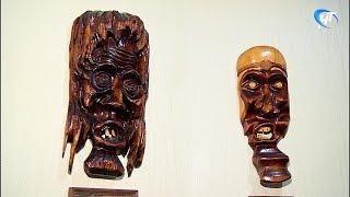 Новгородский пенсионер Игорь Шарипов изготавливает оригинальные изделия из дерева