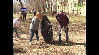 С 1 апреля стартует всенародная уборка города после зимы