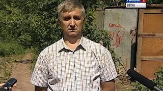Снос незаконных построек в Нововятске(ГТРК Вятка)