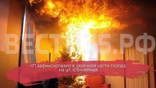 В Череповце на пожаре погиб человек