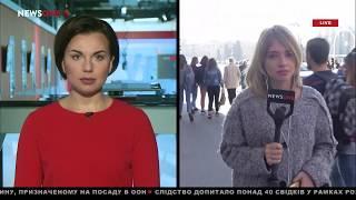 Годовщина трагического ДТП в Харькове: люди несут цветы к месту аварии 18.10.18
