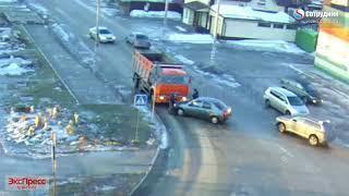 ДТП Бийск на перекрестке ул. Разина   Липового 20.03.2018