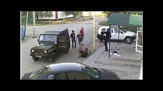 Миллерово беспощадно избили военного человека из Москвы, который приехал на украинскую границу дл...