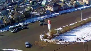 ДТП (авария г. Волжский) ул. Карбышева ул. Пионерская 20-02-2018 12-01