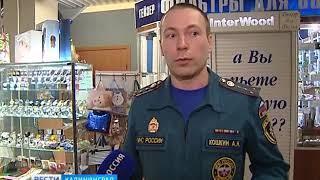 Сотрудники МЧС не смогли найти эвакуационный выход из калининградского «Акрополя»