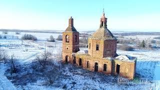 «Застывшее время»: полеты над трехсотлетним храмом в Липецком районе