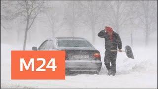 Сильнейшая метель обрушилась на юг Финляндии - Москва 24