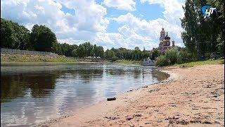 Администрация Старорусского района запретила купаться в реке Полисть