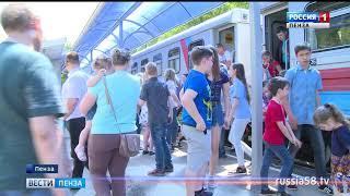 Пассажирами детской железной дороги летом стали более 8,5 тыс. пензенцев