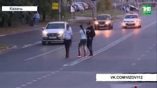 Столкновение трёх автомобилей на улице Восход | ТНВ