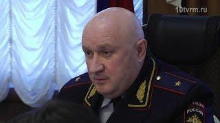 Пресс - конференция министра внутренних дел по РМ