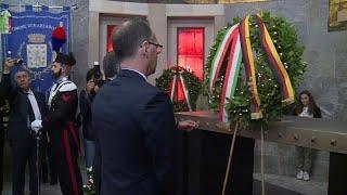 Глава МИД Германии почтил память жертв нацизма в Италии…