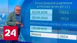 """""""Погода 24"""": в центре страны лето продолжится в сентябре - Россия 24"""