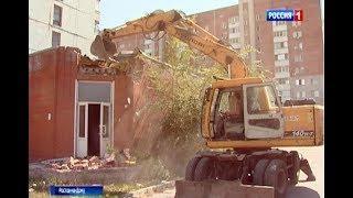 В Первомайском районе Ростова снесли незаконную постройку