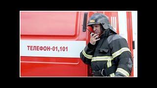 В Санкт-Петербурге в торговом павильоне произошел пожар
