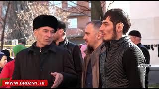 В Грозном появился еще один многоквартирный дом