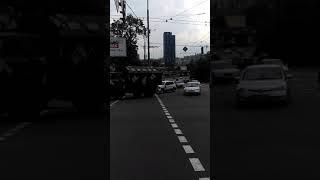 ДТП с военными в Киеве 18.08.18