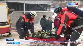 В пензенском дворце спорта «Буртасы» потушили условный пожар