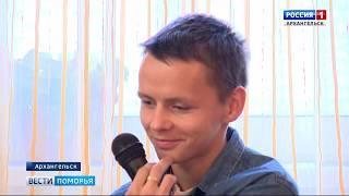 Спортивный урок провёл в Архангельске участник зимних Паралимпийских игр в Сочи Александр Яремчук
