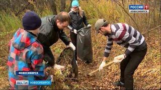 Новосибирск вышел на общегородской субботник